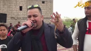 الفنان فرج قداح زفة العريس علي الديات ابو النشمي 2019