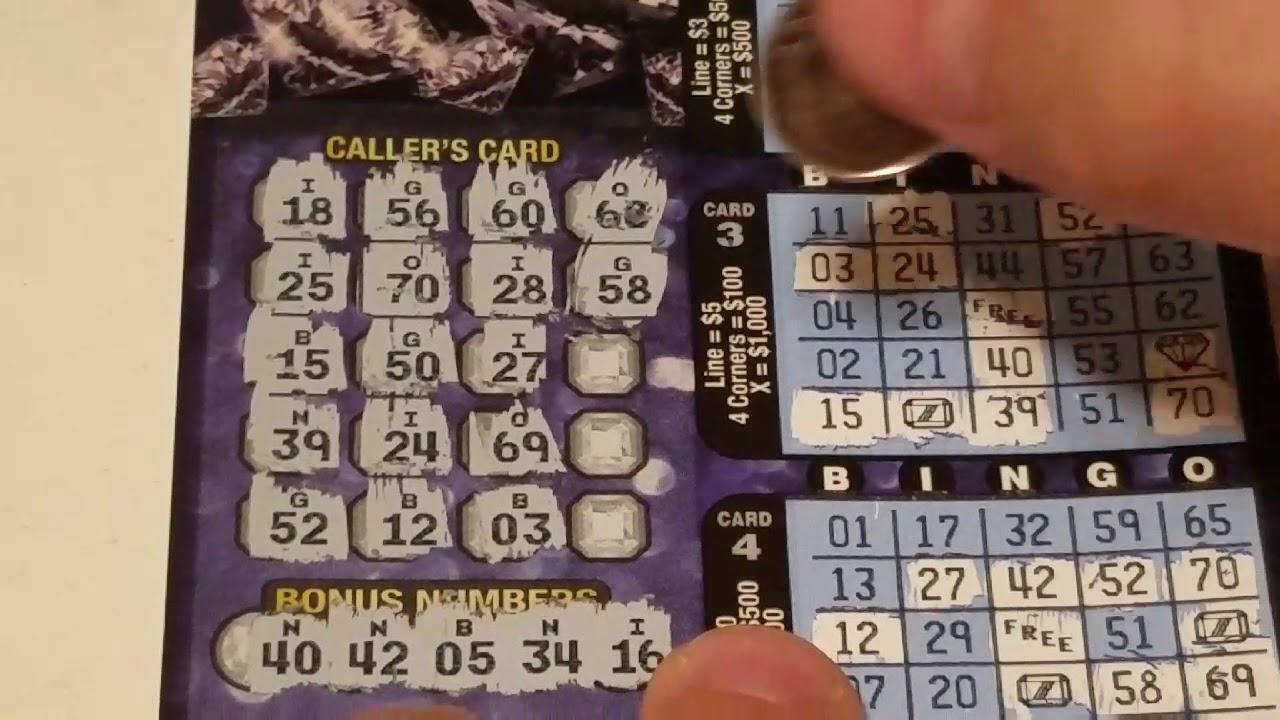 New ticket Lucky Gems Bingo - YouTube