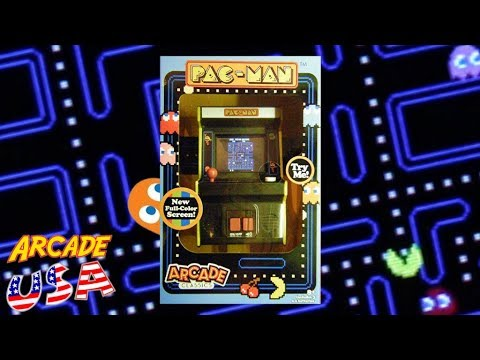 Basic Fun Pac Man Mini Arcade #14 With New Screen!