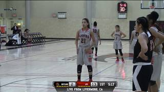 Skyline vs las positas college women's basketball live 2/16/18