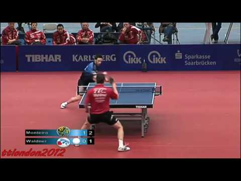 Jan-Ove Waldner vs Joao Monteiro