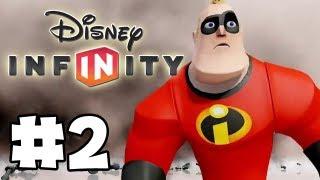 Disney Infinity - Gameplay Walkthrough Part 2 - Mastering the Creativi-Toys (HD) thumbnail