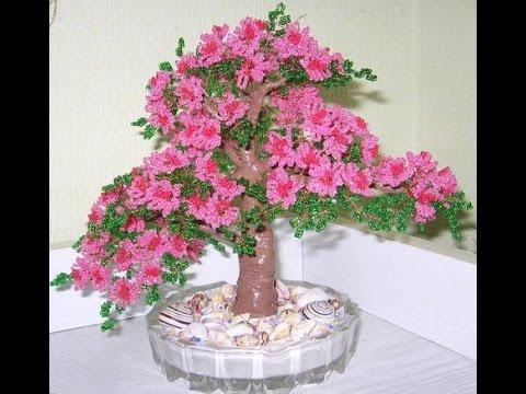 Цветы из бисера. Мастер-класс с пошаговыми фото
