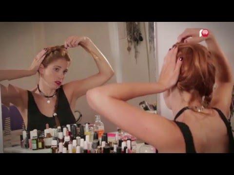 Candelaria Molfese Tutorial de peinados Peinados hechos en casa  EP24