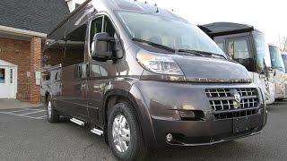 Walk Through 2015 Roadtrek Zion RAM Promaster RV Conversion Camper Van
