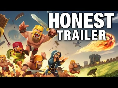 CLASH OF CLANS (Honest Game Trailers)