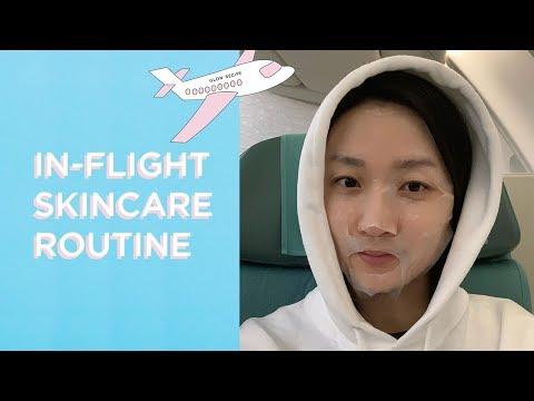 In-Flight Skincare Routine   GLOW RECIPE