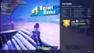 Fortnite Generalmalice- Gets another squad win PS4 randoms 12