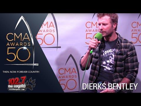 CMA Awards 50: Dierks Bentley Talks Performing On Tootsie's Rooftop & Having Unbelievable Year