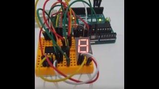 LED Display Driver 8-Digit - MAX7219CNG - COM