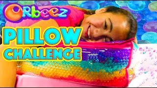 Orbeez Filled Pencil Bag and GIANT PILLOW for Back to School DIY Challenge | Official Orbeez