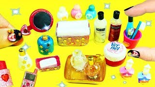 10  DIY Miniature Bathroom Accessories - simplekidscrafts