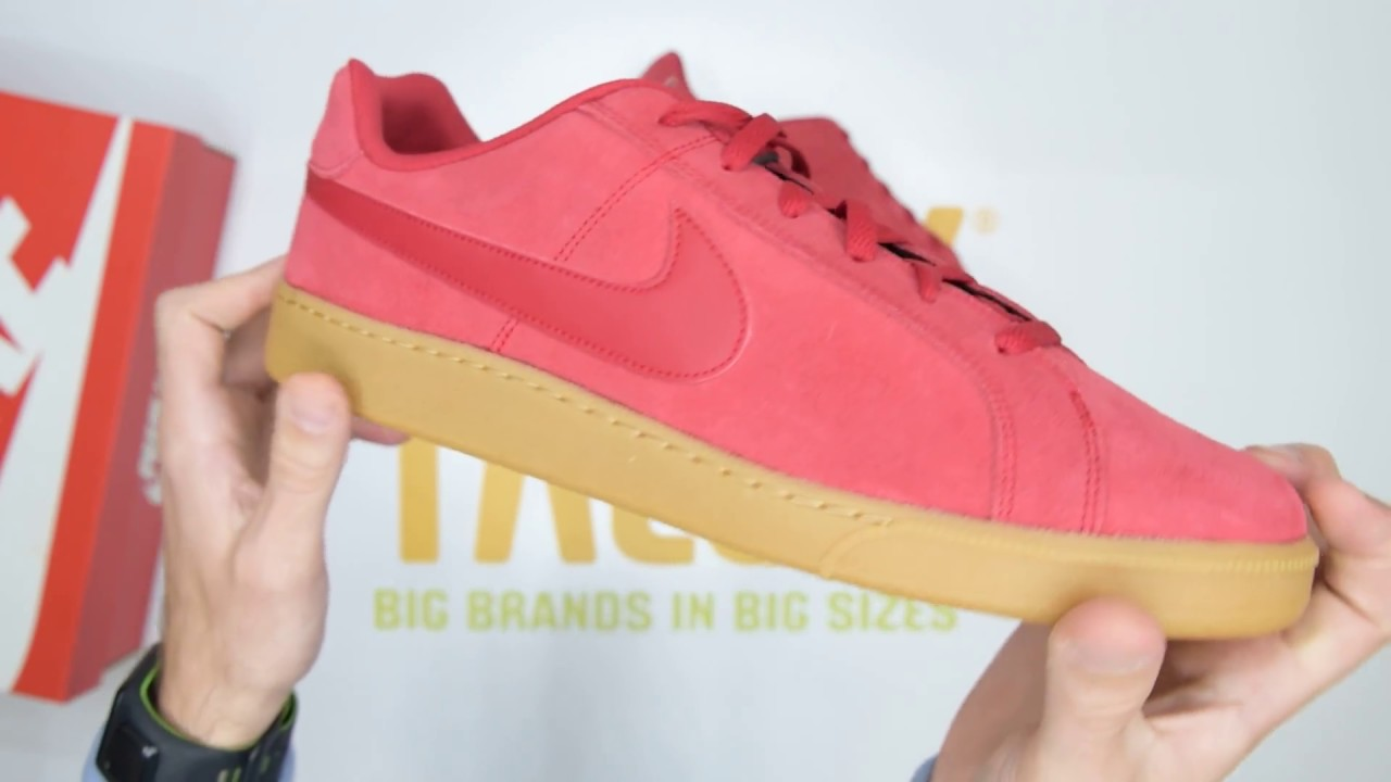 Nike Court Royale Suede - Red Gum - Unboxing | Walktall