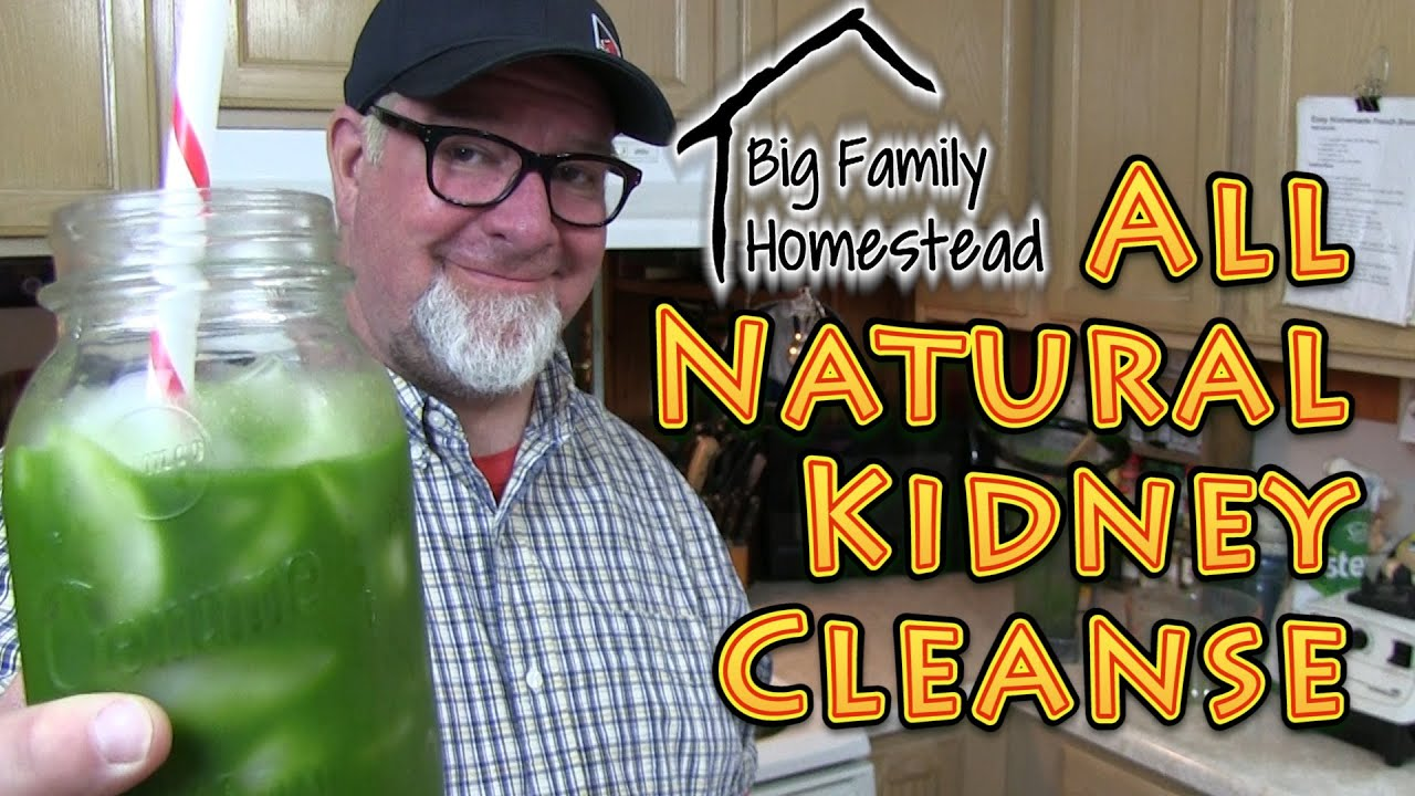 Natural Kidney Cleanse Drink RAW - YouTube