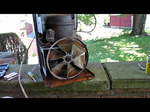 Scrapping - OLD Window Air Conditioner