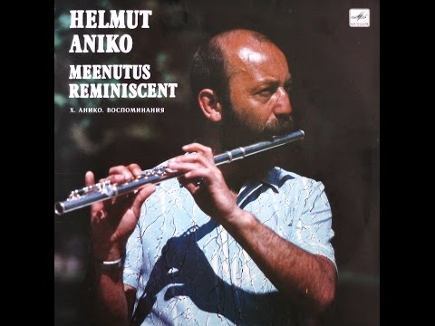 Helmut Aniko - Meenutus - Reminiscent (FULL ALBUM, jazz, Estonia, USSR, 1990)
