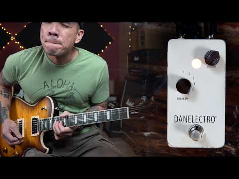 Danelectro THE BREAKDOWN boost/overdrive pedal - demo by RJ Ronquillo