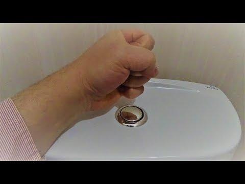 Ремонт за 1 секунду.  Вода не поступает в сливной бачок.