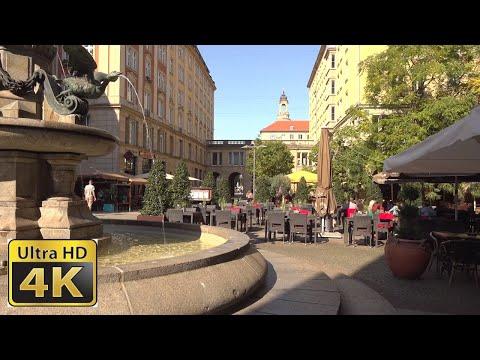 Sony FDR AX700 Dresden city tour - 4k video ultra hd