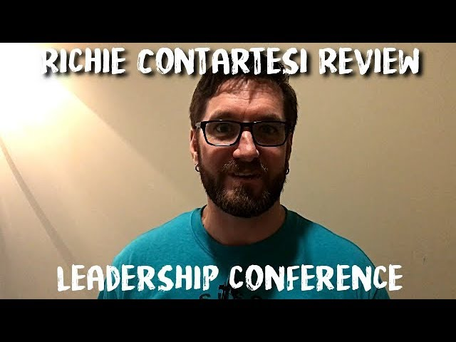 Richie Contartesi Review -  Leadership Conference Review