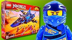LEGO Ninjago Jay's Storm Fighter LIVE Build