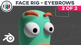 خلاط 2.8 التعليمي - إنشاء الوجه تلاعب w مخصص العظام تحكم [2 من 2]