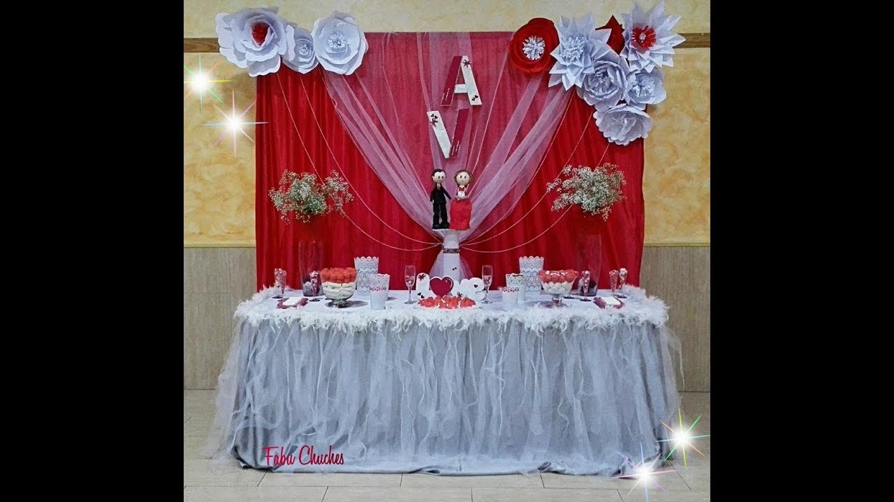 Mesa decorada para boda youtube - Mesa de navidad decorada ...