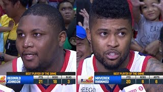 Best Players: Reggie Johnson and Maverick Ahanmisi | PBA Commissioner's Cup 2018