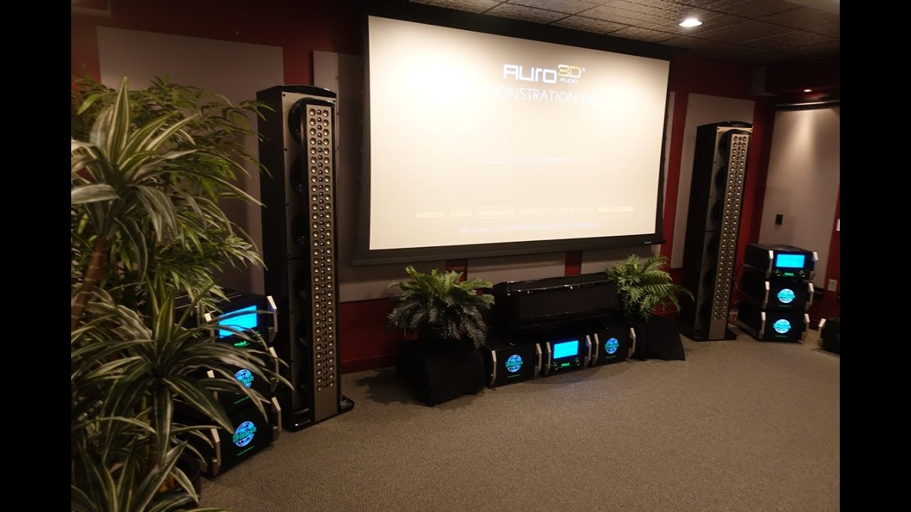 Home Cinema McIntosh Labs - YouTube