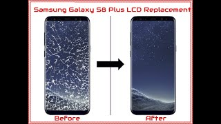 Samsung Galaxy S8 Plus G955u/G955 Screen LCD Replacement With Frame
