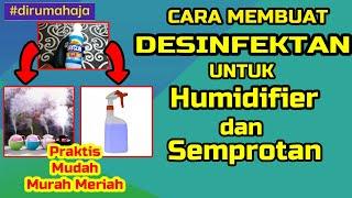 Video ini adalah tutorial cara membuat cairan desinfektan sendiri dengan bahan yang murah meriah membuatnya sangat mudah tinggal anda menyiapkan bahan-b...
