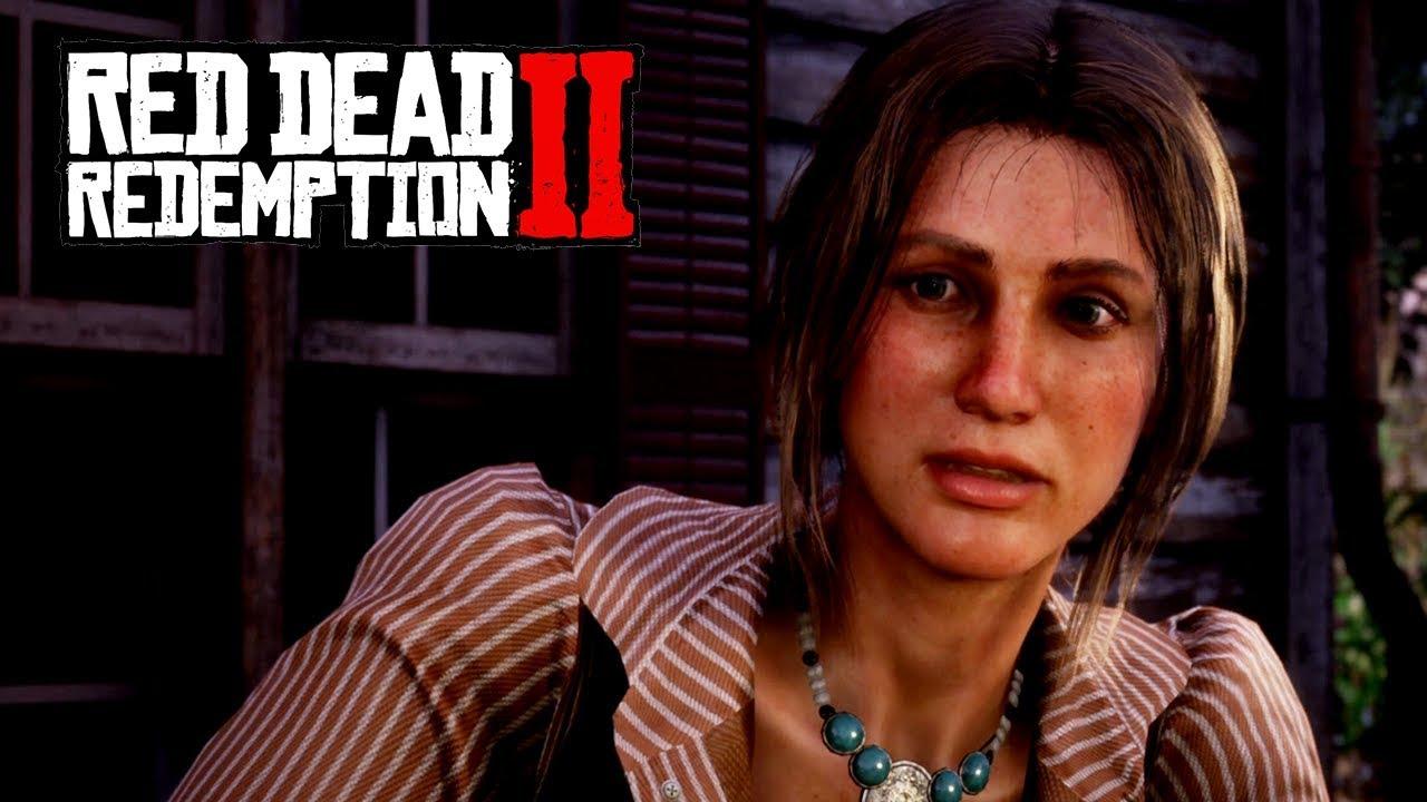 BONNIE MACFARLANE and MacFarlane Ranch (Red Dead Redemption 2 Online)  Bonnie Stranger Mission
