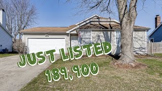 Updated 3BR Home For Sale in Center Grove School District!