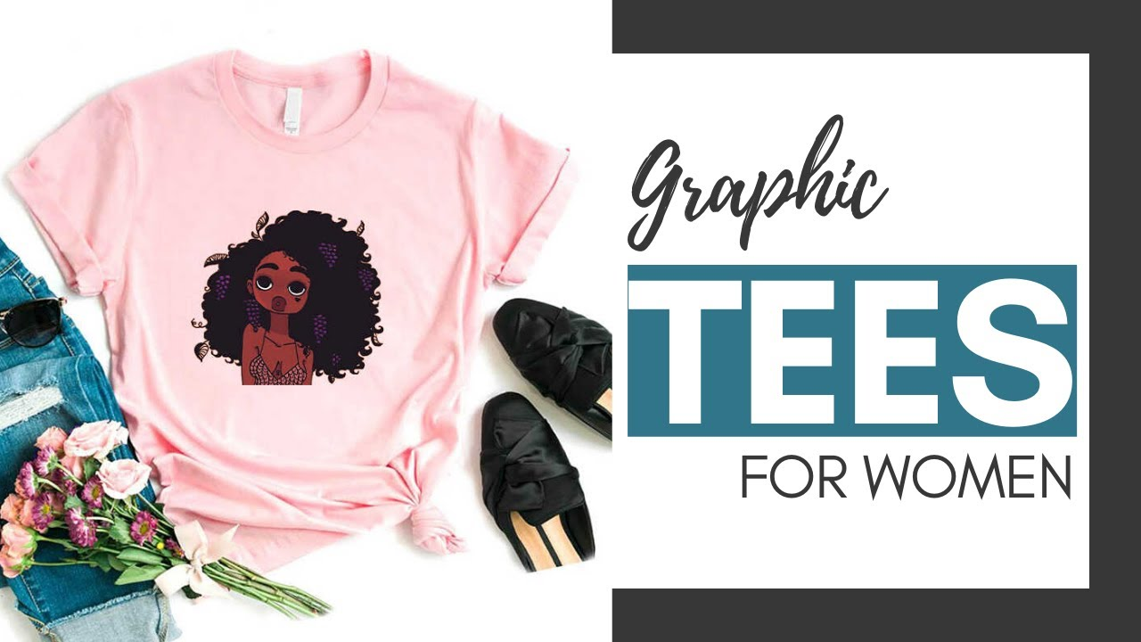 Graphic Tees for women | Vintage Graphic Tees