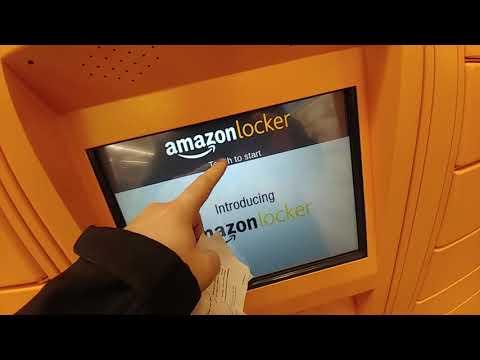 Amazon Locker::: How to return Package to the Amazon Locker..