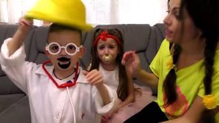 Masha and Vania play with Doll