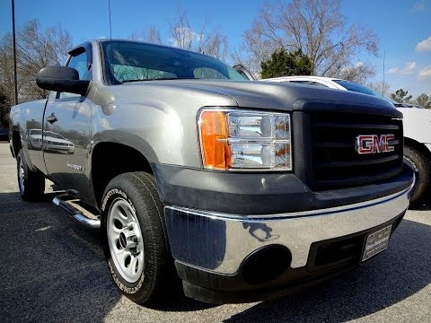 2008 Gmc Sierra 1500 Work Truck Regular Cab