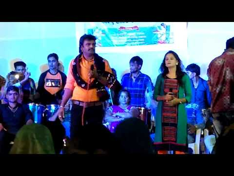 Rakesh Barot Live Garba On the stage video