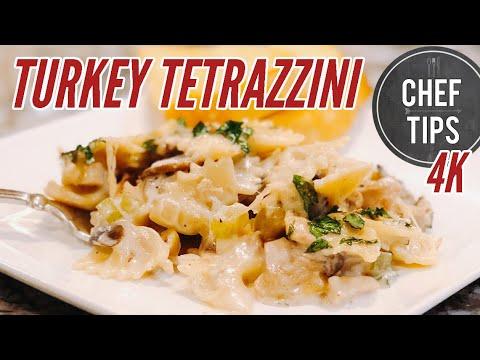 Turkey Tetrazzini Recipe for Turkey Leftovers