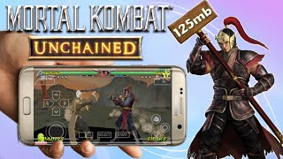 125mb Mortal Kombat Unchained Highly Compressed Psp Iso Game Android_Best PSP Setting_Hd Gameplay
