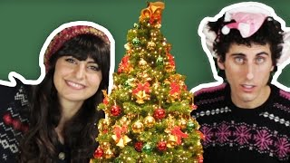 Jews Decorate Christmas Trees For The First Time