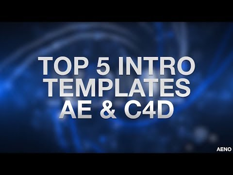 TOP 5 3D Intro Templates #4 — Cinema 4D & After Effects