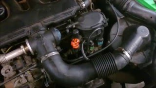 Problème intermittent du préchauffage d'un moteur Diesel.