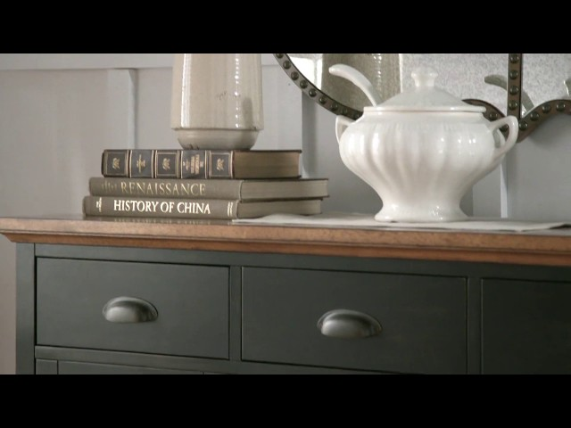 Eleanor Wood Cabinet Buffet Server by iNSPIRE Q Classic