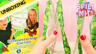 Schmetterlings Garten | echte Schmetterlinge züchten und fliegen lassen | Unboxing