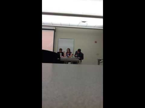 Law and Politics Society vs.  Capital Hill Gang Fall, 2015 Debate