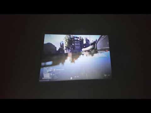 UC40 Mini beam projector with Battle field 5