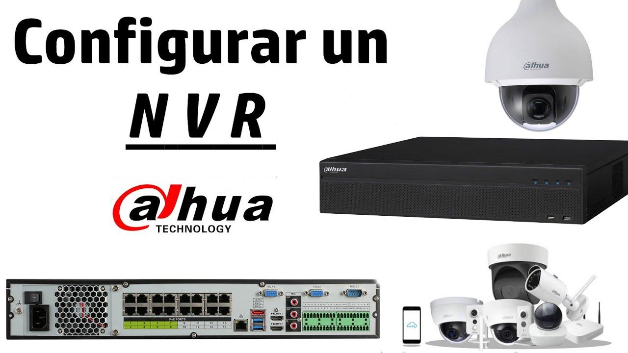 Cómo configurar NVR Dahua 2020 en adelante