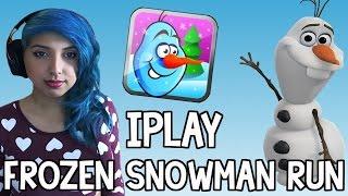 Frozen Snowman Run (iPad Gameplay)