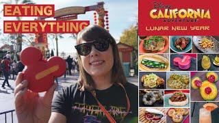 Eating EVERYTHING at Disneyland's Lunar New Year 2020 thumbnail